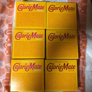 大塚製薬 - 6箱セット!カロリーメイト チョコレート味 メープル味 4本入 80g