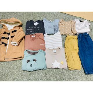 フタフタ(futafuta)のまとめ売り11点 110〜120センチ 女の子、男の子(Tシャツ/カットソー)