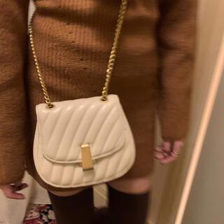 ザラ(ZARA)の新品*gold chain mini bag(ショルダーバッグ)