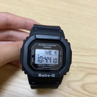 G-SHOCK - CASIO Baby-G G-SHOCK 黒 デジタル時計