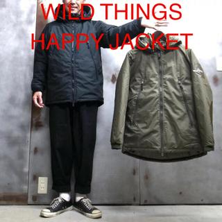 ワイルドシングス(WILDTHINGS)の【WILD THINGS HAPPY JACKET】(ダウンジャケット)