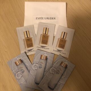 Estee Lauder - エスティーローダー化粧水 ファンデーション サンプル 6点
