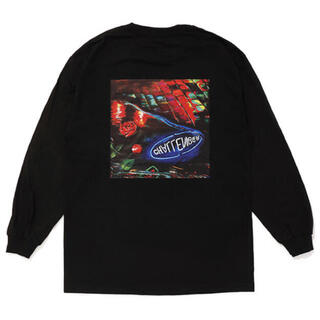 L CHALLENGER L/S PUDDLE TEE 長瀬