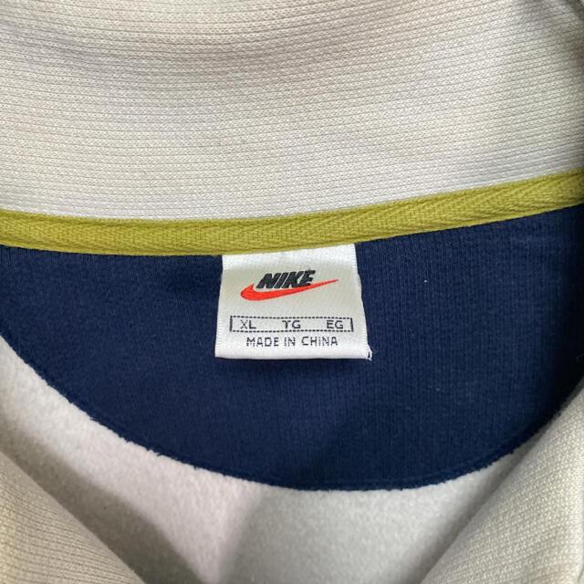 NIKE(ナイキ)の【稀少デザイン】 ナイキ 銀タグ ワンポイント刺繍 90s フルジップ 古着 その他のその他(その他)の商品写真