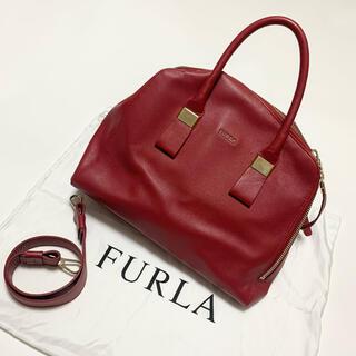 フルラ(Furla)のFURLA フルラ 2way ツイッギー ハンドバッグ ショルダーバッグ 赤(ハンドバッグ)