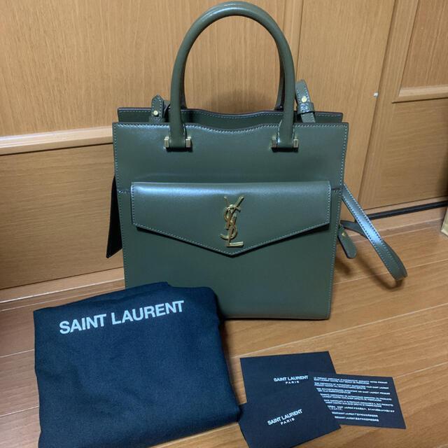 Saint Laurent(サンローラン)のサンローラン アップタウン カーキ レディースのバッグ(ハンドバッグ)の商品写真