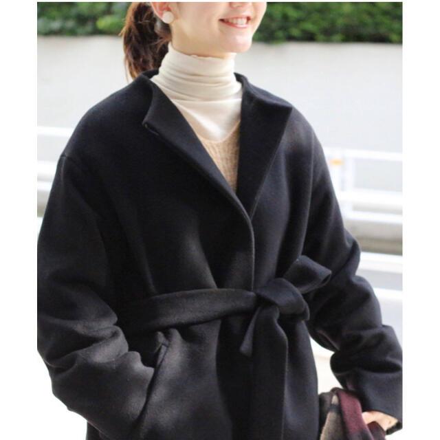 IENA(イエナ)の美品◇イエナ IENA ロングスリットコート 34 レディースのジャケット/アウター(ロングコート)の商品写真