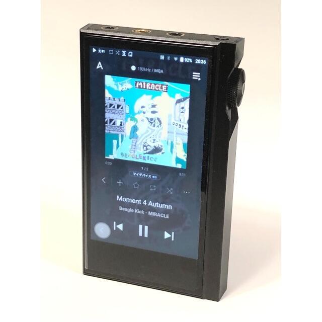 Astell&Kern KANN ALPHA Onyx Black スマホ/家電/カメラのオーディオ機器(ポータブルプレーヤー)の商品写真
