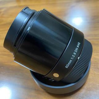 SIGMA - シグマ 60mm F2.8 DN ブラック マイクロフォーサーズ用