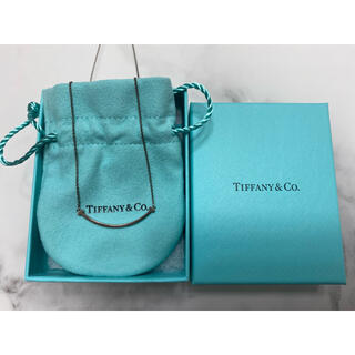 Tiffany & Co. - ティファニーTスマイル ネックレス  スターリングシルバー925