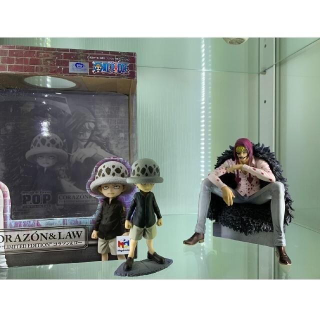 MegaHouse(メガハウス)のワンピース onepiece フィギュア コラソン&ロー エンタメ/ホビーのフィギュア(アニメ/ゲーム)の商品写真