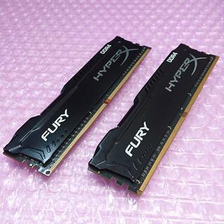 メモリ Kingston DDR4-2133 16GB HyperX ''18