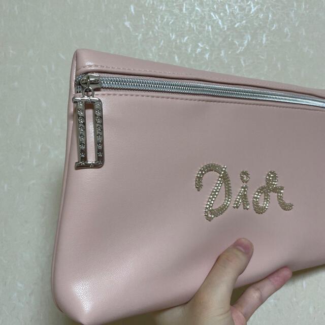 Christian Dior(クリスチャンディオール)の♥ディオール♥ポーチ♥ ノベルティポーチ 小物入れ レディースのファッション小物(ポーチ)の商品写真