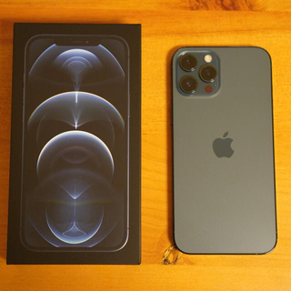 iPhone - iPhone 12pro max 256gb パシフィックブルー