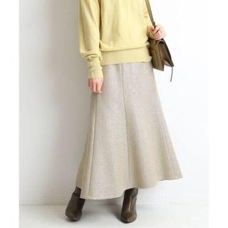 イエナ(IENA)の¥20,900 イエナ 2020AW ロングウールスカート フレア ラメ(ロングスカート)
