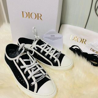 クリスチャンディオール(Christian Dior)のディオール WALK'N'DIOR  スニーカー レディース 37.5(スニーカー)