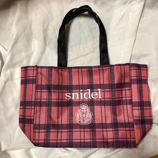 スナイデル(snidel)のnon-no 2014年11月付録 snidel秋チェックトート(トートバッグ)
