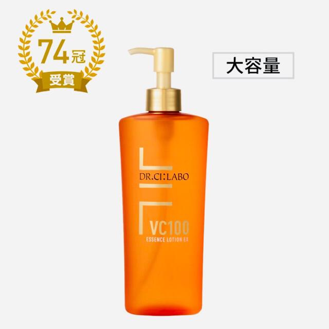 Dr.Ci Labo(ドクターシーラボ)の【新品】VC100エッセンスローションEX 285ml ポンプタイプ コスメ/美容のスキンケア/基礎化粧品(化粧水/ローション)の商品写真