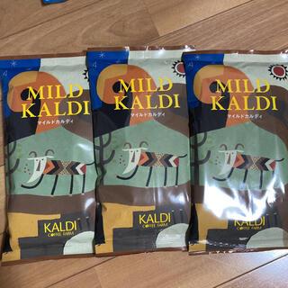 カルディ(KALDI)のカルディ KALDI マイルドカルディ [中挽]コーヒー粉 コーヒー 3袋‼️(コーヒー)