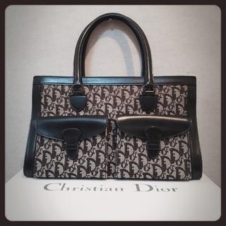 クリスチャンディオール(Christian Dior)のChristian Dior☆クリスチャンディオール トロッターハンドバッグ(ハンドバッグ)