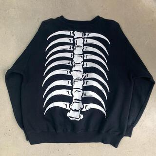 UNDERCOVER - UNDERCOVER 90's ボーン スカル スウェット Bone Skull