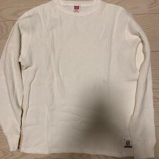 スタンダードカリフォルニア(STANDARD CALIFORNIA)のスタンダードカリフォルニア 2020 ヘビーワッフルロングT M 新品(Tシャツ/カットソー(七分/長袖))