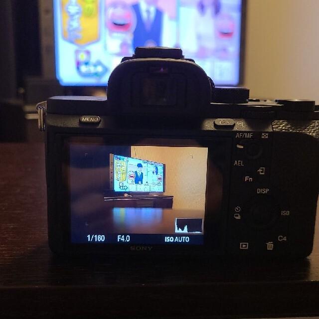 SONY(ソニー)のsony a7ii ズームレンズキット ミラーレス一眼 スマホ/家電/カメラのカメラ(ミラーレス一眼)の商品写真