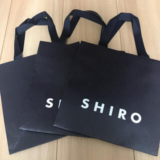 シロ(shiro)のSHIRO ショップ袋(その他)