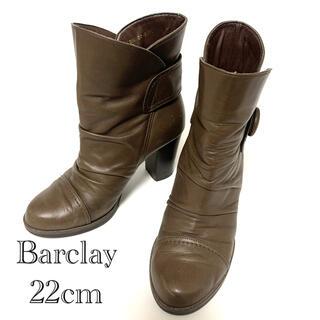 バークレー(BARCLAY)のBarclay ショートブーツ 22cm(ブーツ)