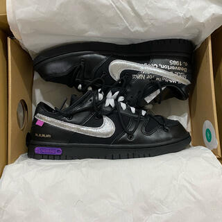 OFF-WHITE - OFF-WHITE  NIKE DUNK LOW lot 50 / 50