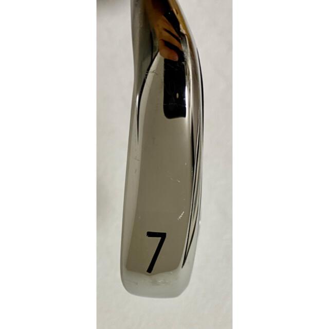 Titleist(タイトリスト)の値下げ 美品 タイトリスト ap1 718   7番アイアン フレックスS スポーツ/アウトドアのゴルフ(クラブ)の商品写真