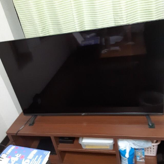 りゅうさま専用 アイリスオーヤマ  薄型テレビ(テレビ台・外付けHDDセット) スマホ/家電/カメラのテレビ/映像機器(テレビ)の商品写真