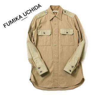 FUMIKA_UCHIDA Officer Shirt フミカウチダ シャツ