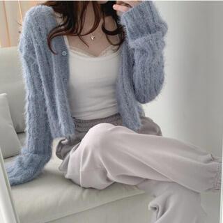STYLENANDA - 【予約商品】《4カラー》ボア クロップド カーディガン 韓国ファッション 秋服