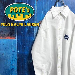 ポロラルフローレン(POLO RALPH LAUREN)の【ポロラルフローレン】ワンポイントイニシャル刺繍ロゴポケットシャツ(シャツ)