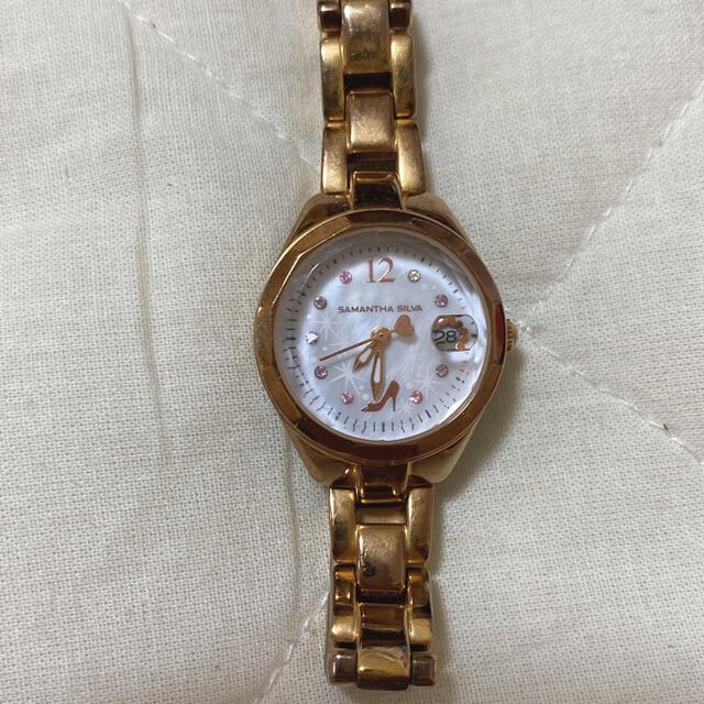Samantha Silva(サマンサシルヴァ)の腕時計 レディースのファッション小物(腕時計)の商品写真