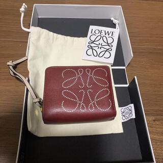 ロエベ(LOEWE)のロエベ 二つ折り財布 レザーアナグラム(財布)