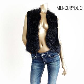MERCURYDUO - MERCURY DUO ファー ベスト ラビット*スナイデル ハニーミーハニー