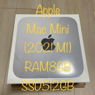 """Mac (Apple) - 【特価】Apple Mac mini 2020 M1 """"8GB×512GB"""""""