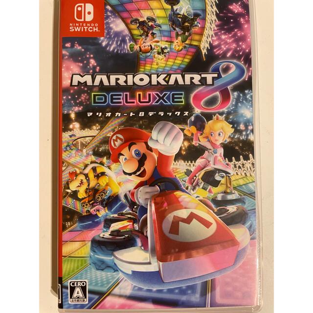 Nintendo Switch(ニンテンドースイッチ)の箱のみ!マリオカート8 デラックス Switch エンタメ/ホビーのゲームソフト/ゲーム機本体(家庭用ゲームソフト)の商品写真