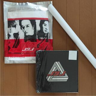 JYJ - 新品 JYJ THE BEGINNING CD Tシャツ ポスター 3点