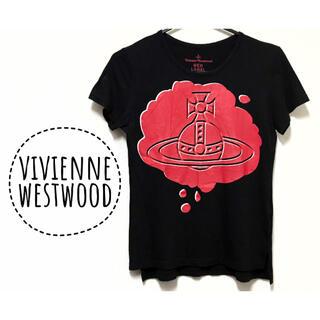 Vivienne Westwood - ヴィヴィアンウエストウッド【美品】big オーブ プリント 半袖 カットソー