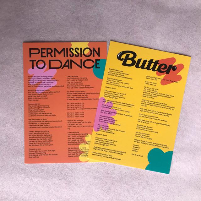 防弾少年団(BTS)(ボウダンショウネンダン)のBTS Butter CD Cream ver. エンタメ/ホビーのCD(K-POP/アジア)の商品写真