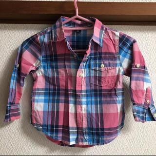 ベビーギャップ(babyGAP)の秋に♪GAP  チェックシャツ 90㎝(Tシャツ/カットソー)