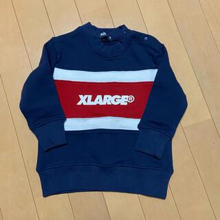 エクストララージ(XLARGE)のXLARGE トレーナー 90cm(Tシャツ/カットソー)