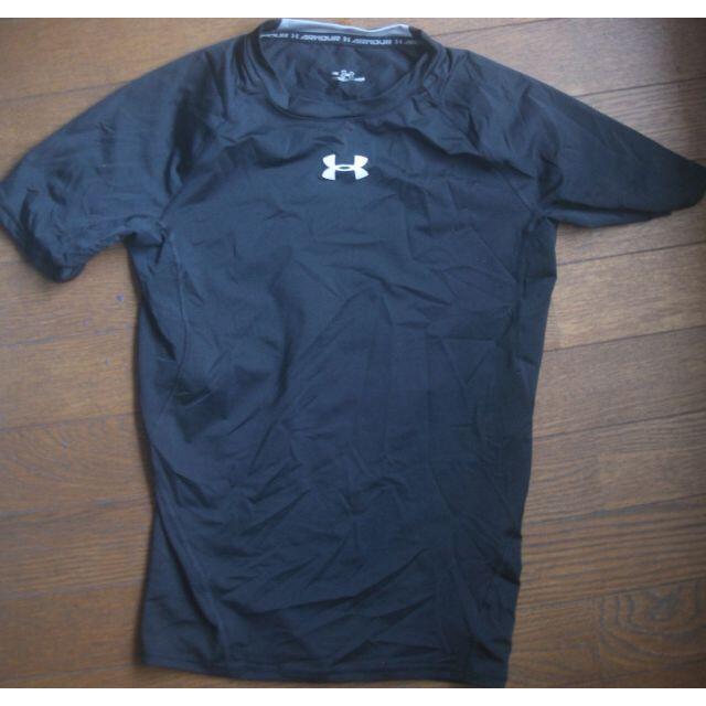 UNDER ARMOUR(アンダーアーマー)の3点セット M   アンダーアーマー  黒 シャツ メンズのトップス(Tシャツ/カットソー(半袖/袖なし))の商品写真