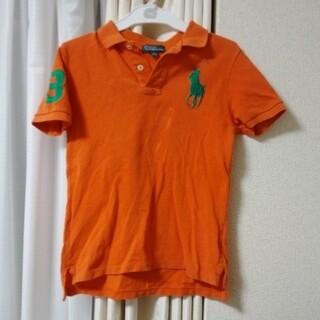 ポロラルフローレン(POLO RALPH LAUREN)のラルフローレン半袖ポロシャツ130cmオレンジ(Tシャツ/カットソー)
