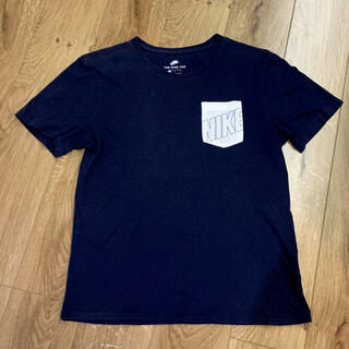 NIKE - NIKE Tシャツ Lサイズ メンズ ネイビー 紺色 胸ポケット