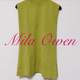 Mila Owen - MilaOwen / ノースリニットトップス
