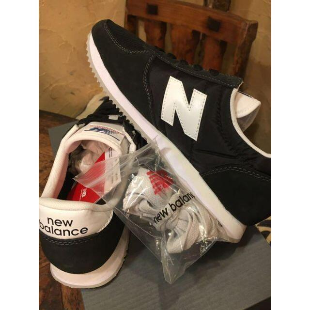 New Balance(ニューバランス)の#秋~★ラスト★24.5cm★激レア・全国完売★ ニューバランス U220BK レディースの靴/シューズ(スニーカー)の商品写真